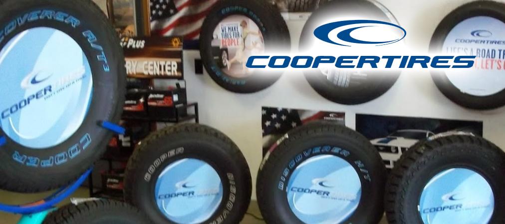 Offering Cooper Tires